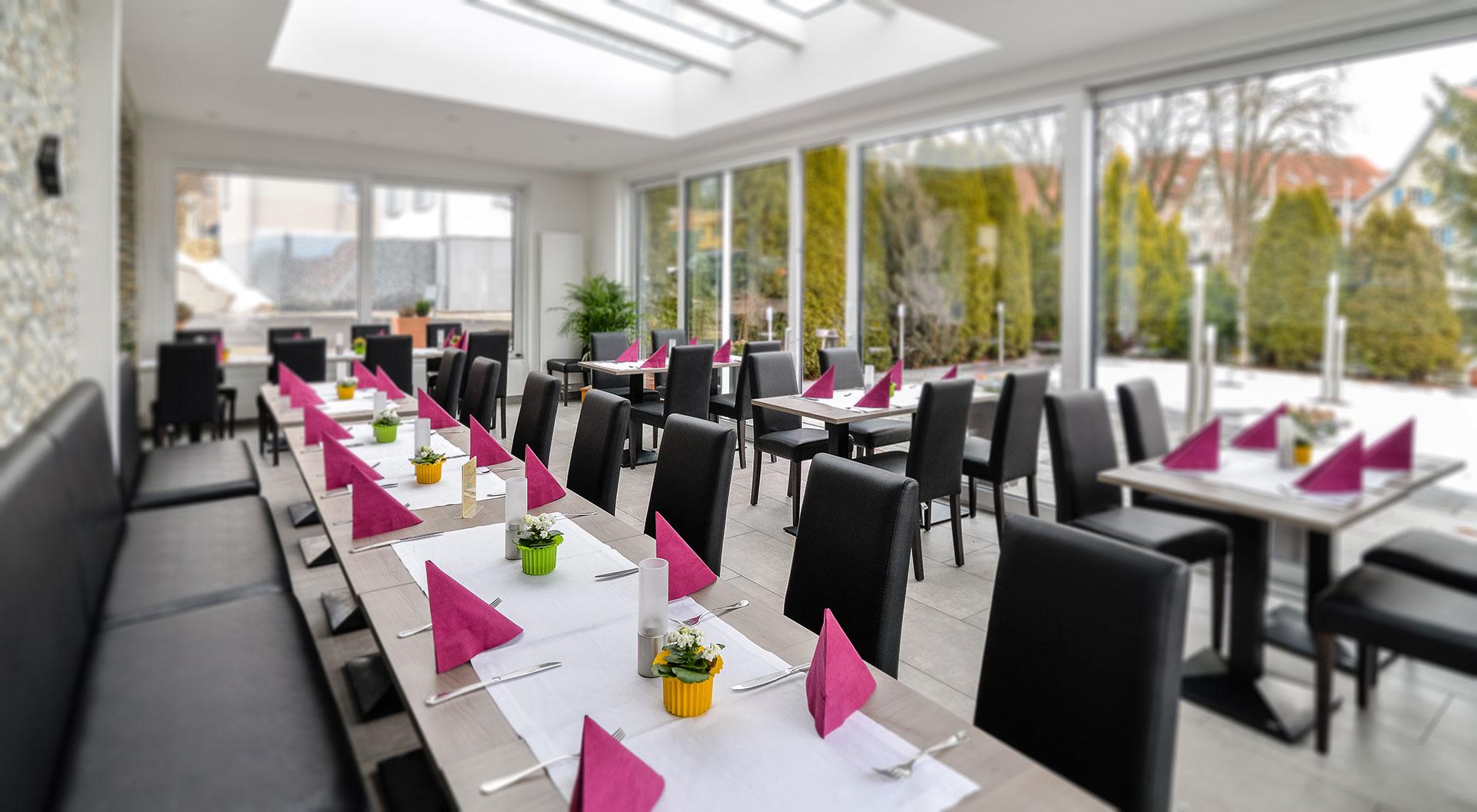 Gasthof zum Hirsch, Wintergarten