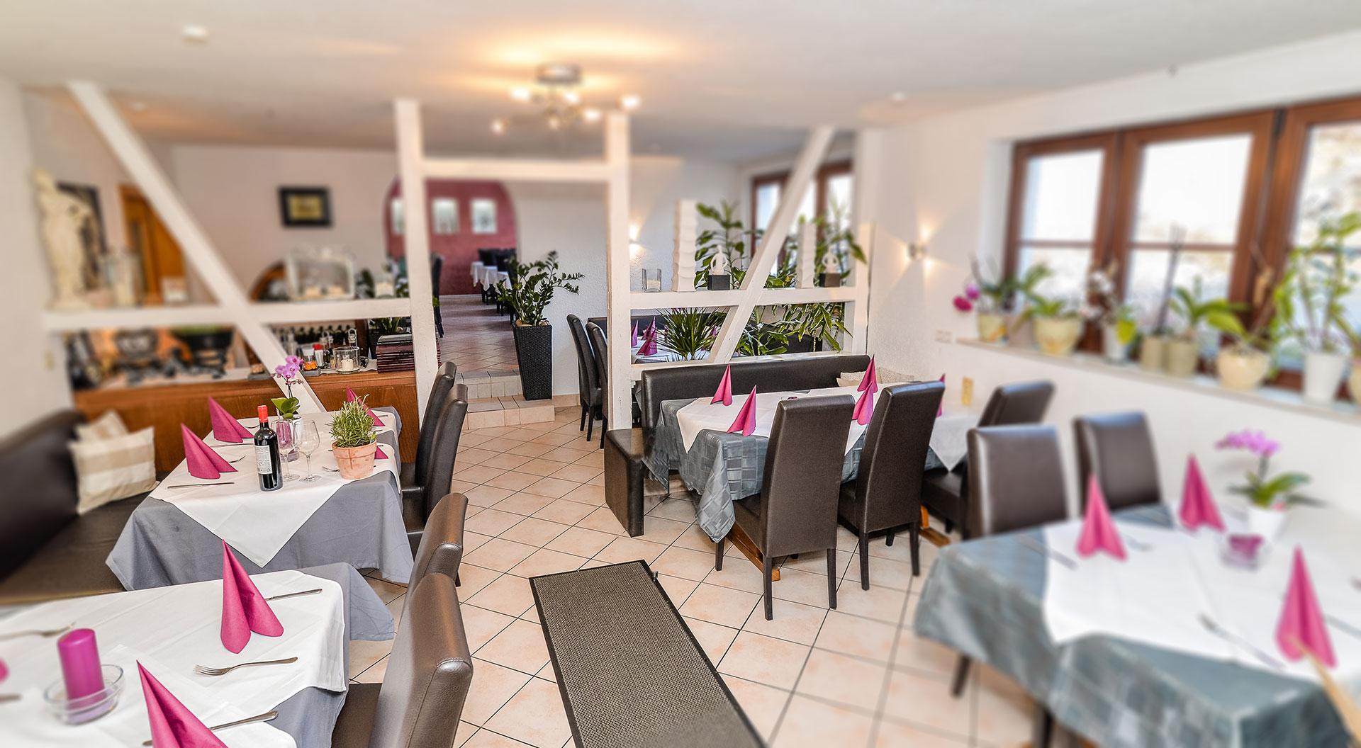 … im Restaurant